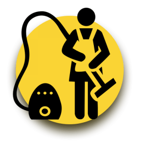Deep Cleaning Yellow Graphic