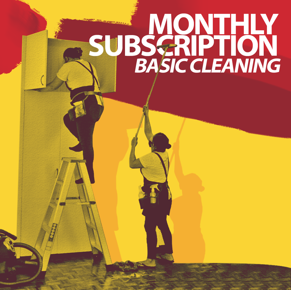 Subscription Cleaning Hero Image