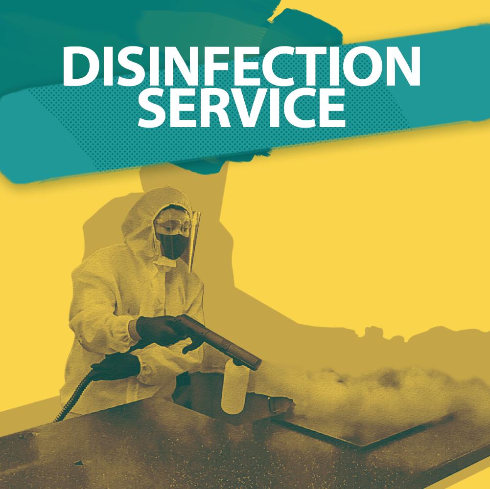Disinfection Service Hero Image